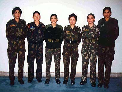 women in indian armed forces