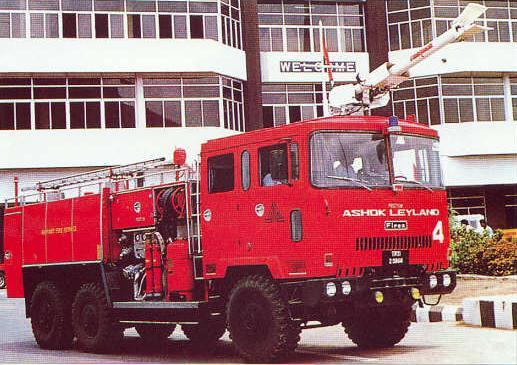 Ashok Leyland Crash Fire Tender (6x6) - Bharat Rakshak ...