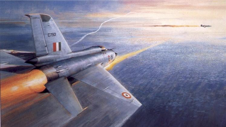 1971 MiG-21 shoots down a F-104 Starfighter near Jamnagar
