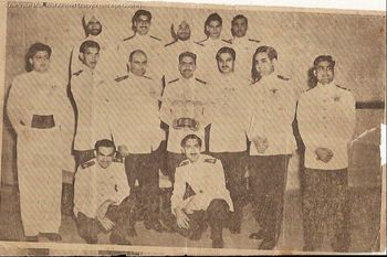 Dining in Night 1953 - Flying Instructors Course - Ambala