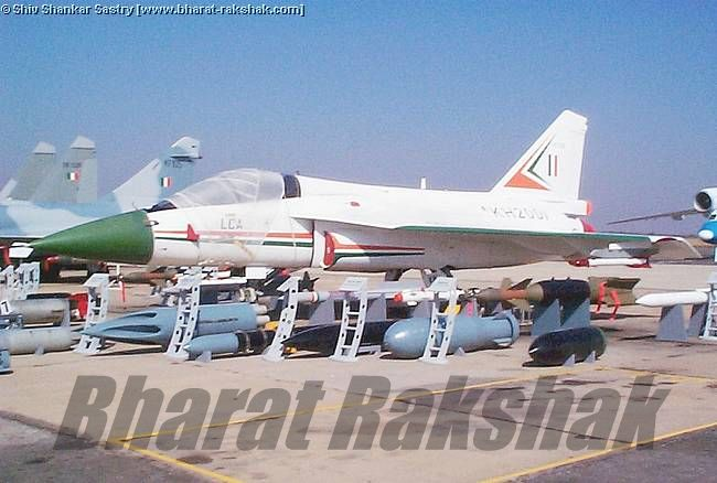 KH2001 on static display at Aero India 2003.