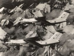 Il-76s over the Himalayas