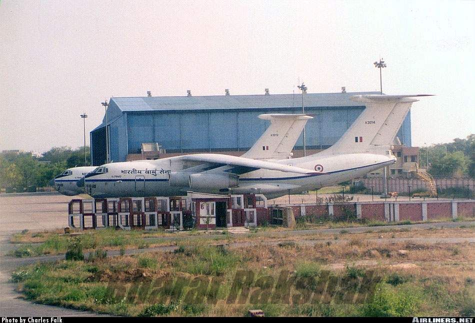 Il-76s of ARC at Palam