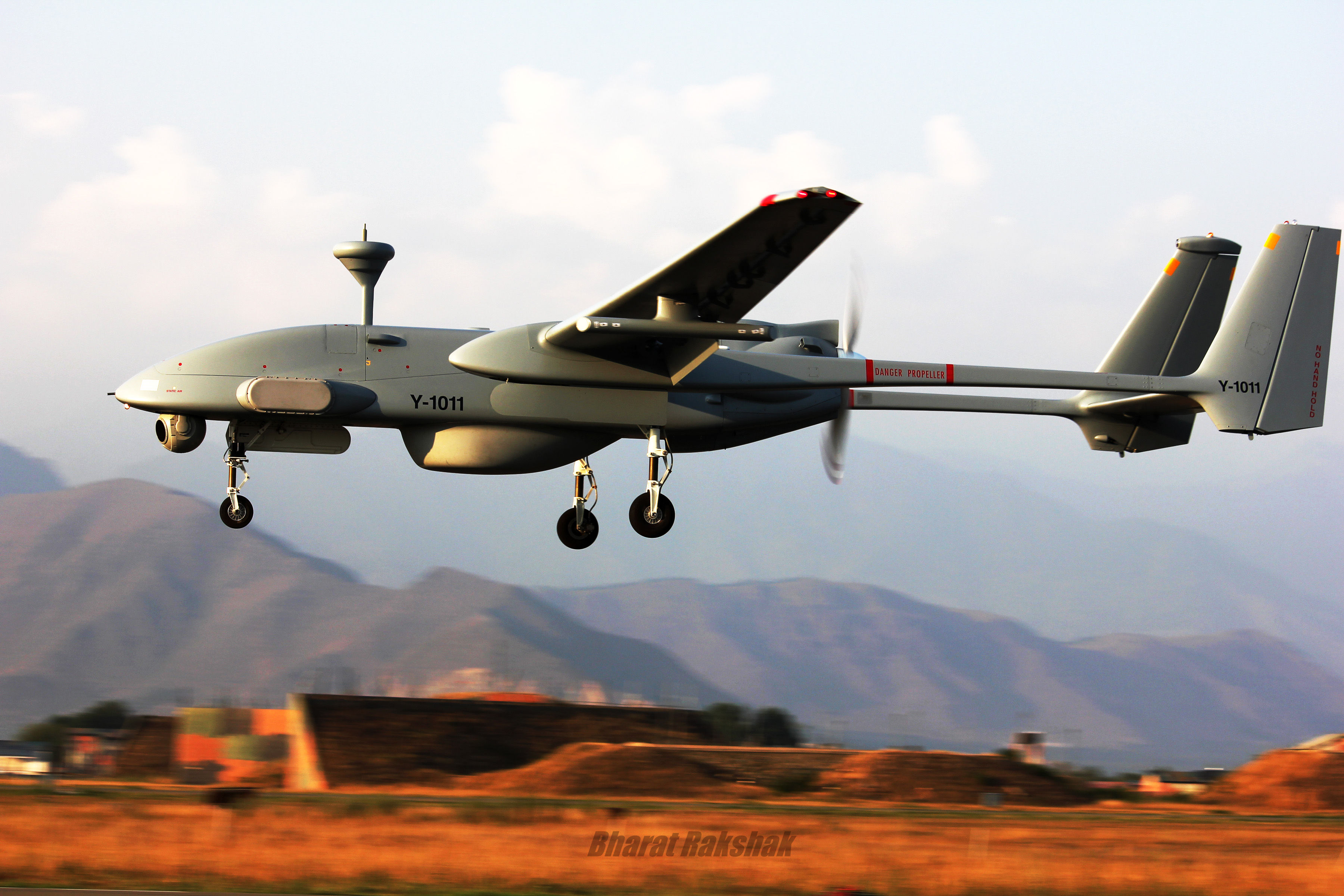 Heron UAV of India