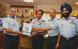 Coffee Table book on Indian Aviation Contingent