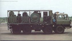 The Mobile Decontamination System based on a TATRA 8x8 truck