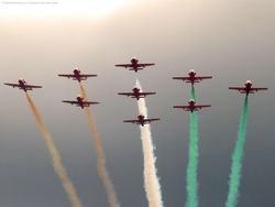 The Suryakirans - Formation Aerobatic Team