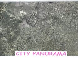 A Panorama photo of Chandigarh City