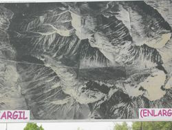 Close up of Kargil area - near the LOC