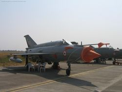 Aircraft Display at Ahmedabad