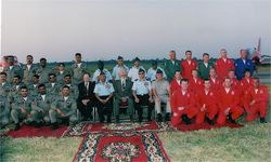 Red Arrows at Hindon 2003