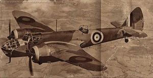 Other Non-Indian Air Force photographs from the albums show a Blenheim Mk IV, a Handley page Hampden and wartime cutaway drawing