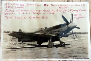 Spitfire XIV at Advanced Flying School (India)