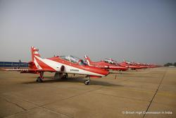 Red Arrows at Dundigal, 2016