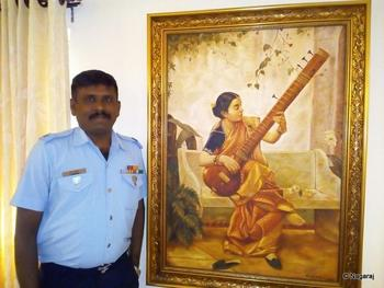 NCE Nagaraj the artist.