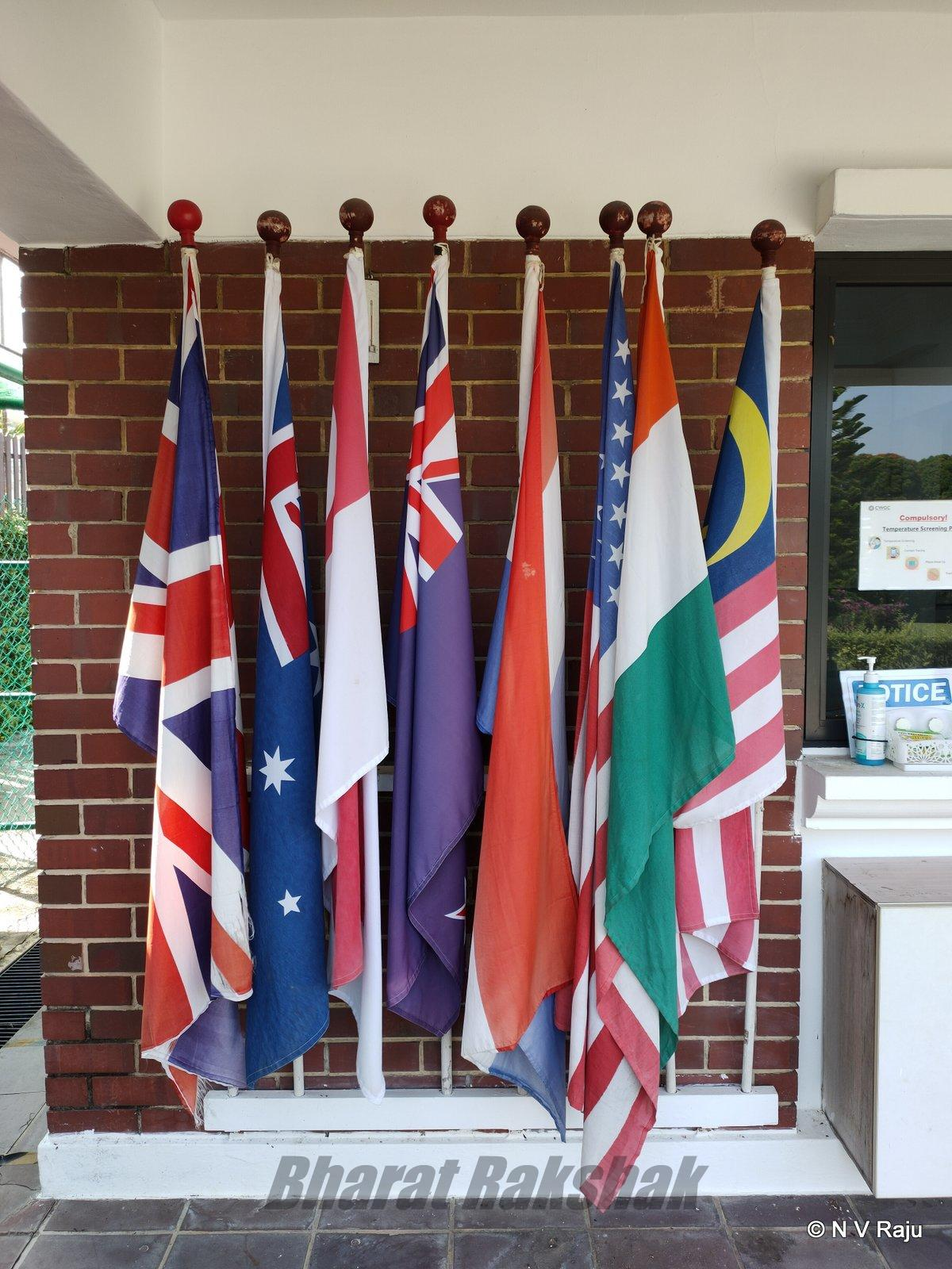Flags of Commonwealth Nations.