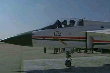 Click on Image to View Video of LCA taxying [254kb]